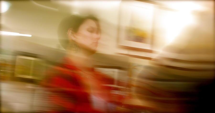 Artist In Red by Terry Zeyen