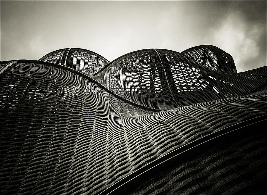 Architecture Photograph - Artistic Curves by Lenny Carter