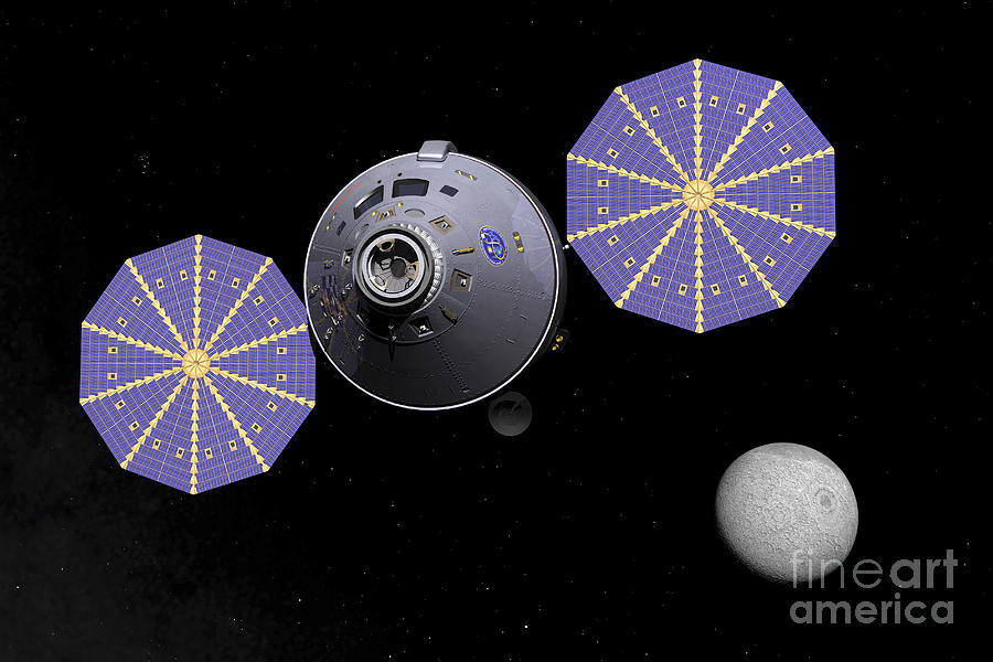Space Exploration Digital Art - Artists Concept Of The Next Generation by Walter Myers