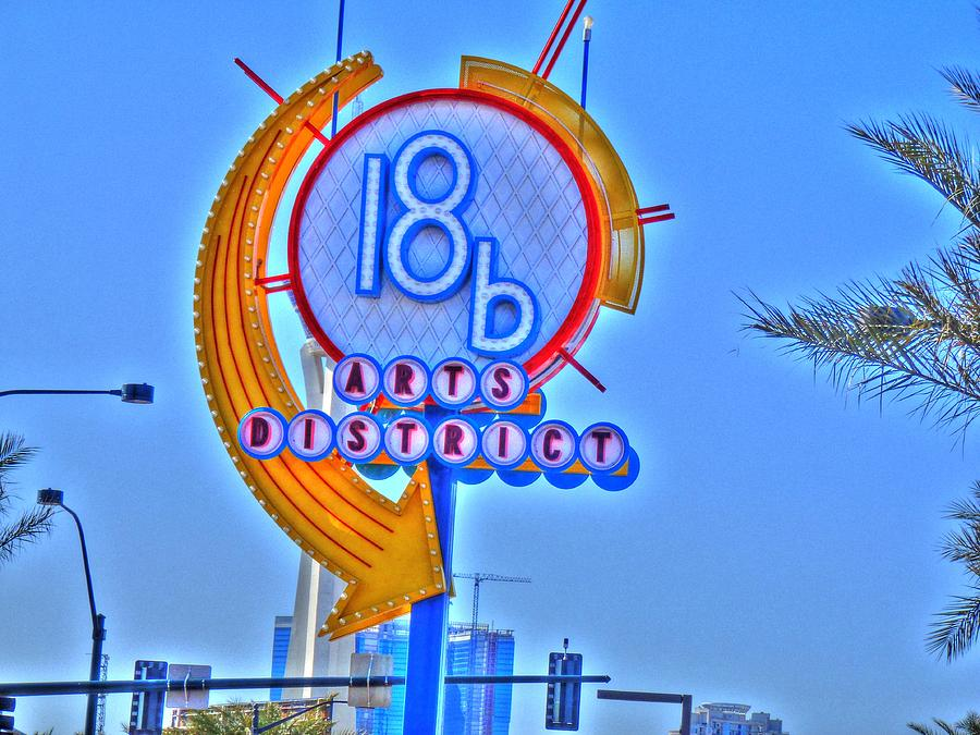 Vegas Digital Art - Artsy by Barry R Jones Jr