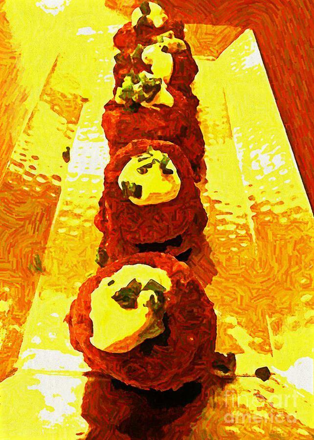 Food Photograph - Artsy Kebabs by Ankeeta Bansal