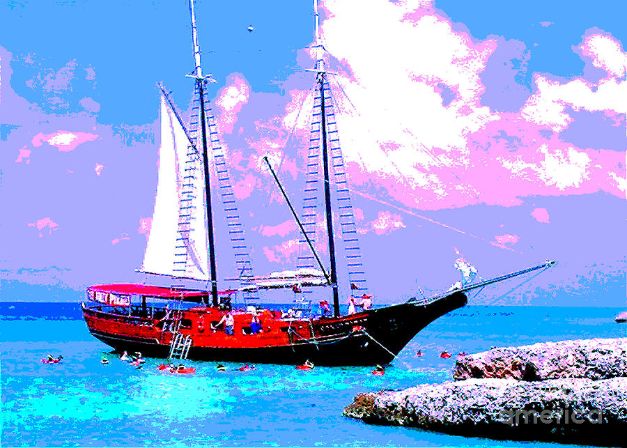 Aruba Photograph - Aruba Adventure by Jerome Stumphauzer