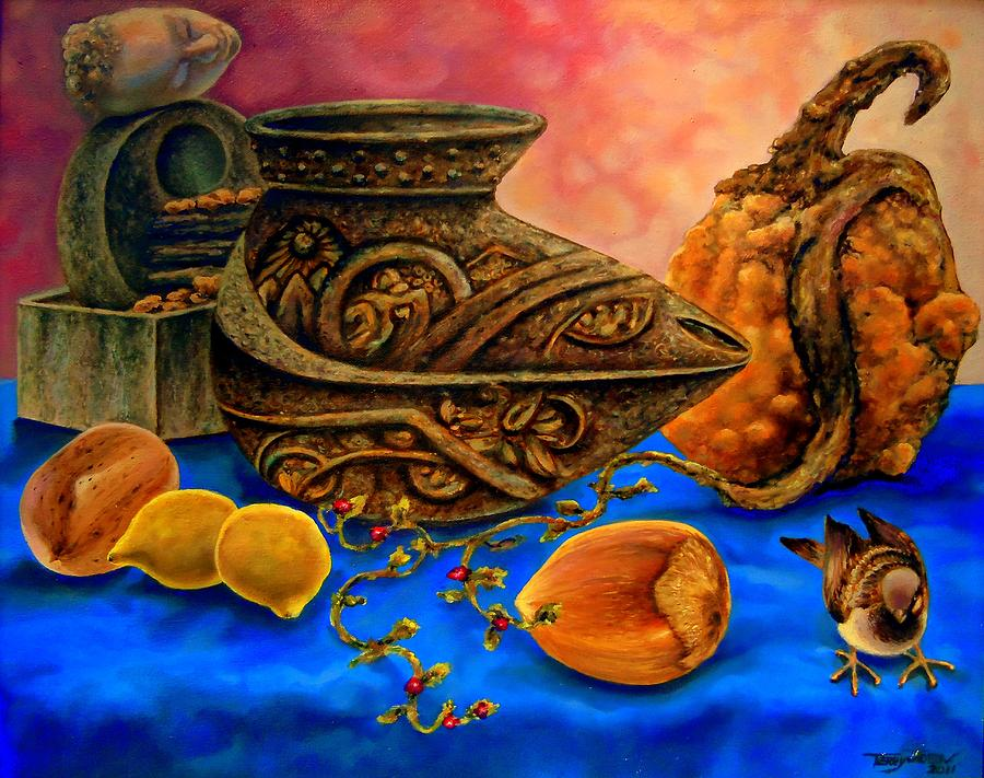 Still Life Painting - As Dreams Are Made  by Terry Jackson