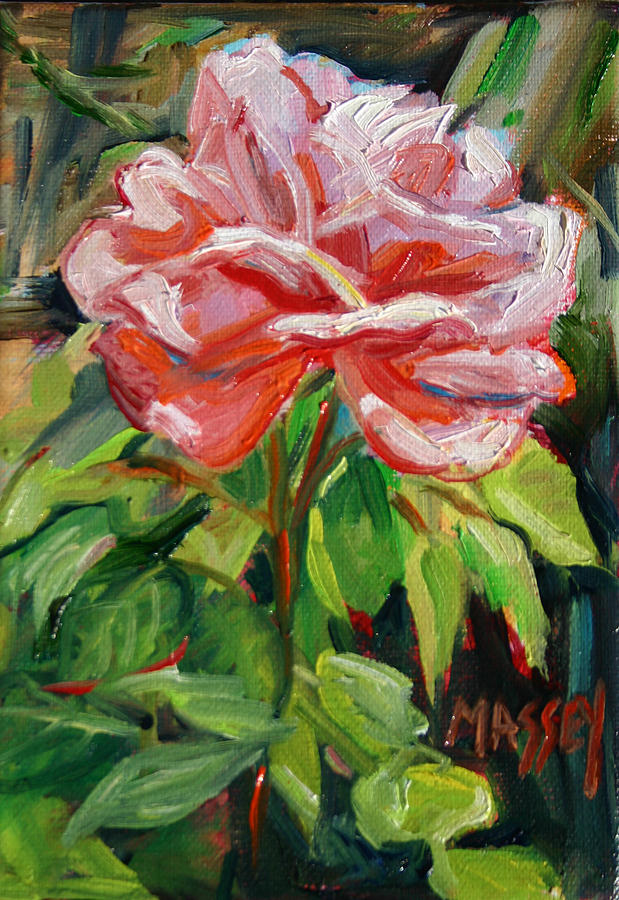 Rose Painting - As Sweet by Marie Massey
