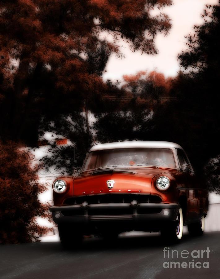 Vintage Cars Photograph - As Time Mercurys Back  by Steven Digman