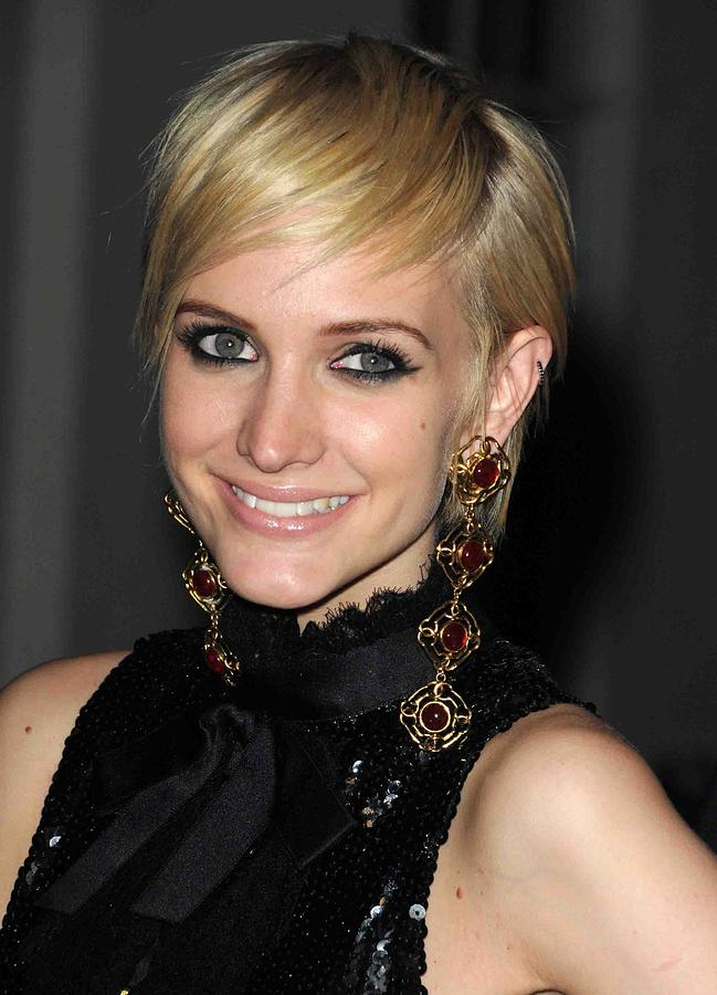 Ashlee Simpson Photograph - Ashlee Simpson Wearing Vintage Chanel by Everett