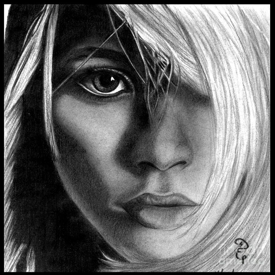 Ashley olsen original pencil drawing