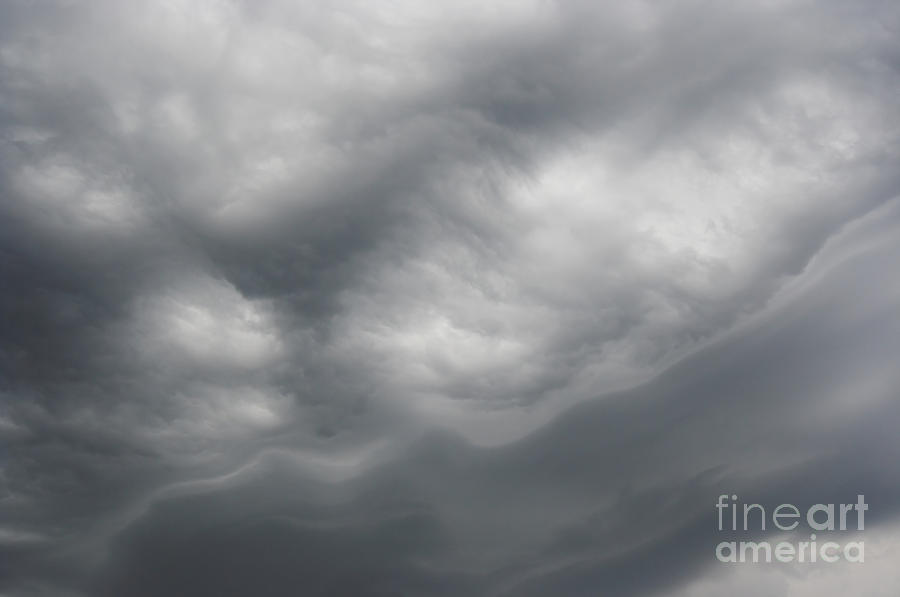 Weather Photograph - Asperatus - Sky Before Storm by Michal Boubin