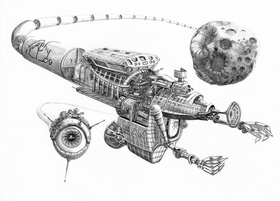 plans for asteroid ship - photo #9