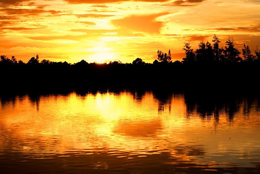 Landscape Photograph - Astonishing Sunset by Luis and Paula Lopez