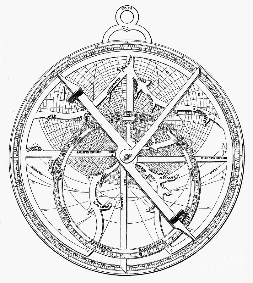 Astrolabe, 15th Century Photograph by Granger