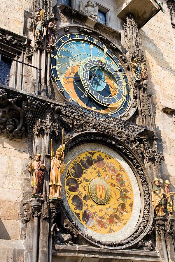 Architecture Photograph - Astronomical Clock In Prague by Artur Bogacki