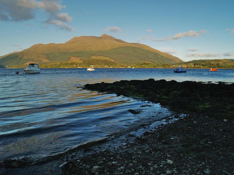 Bay Photograph - At Airds Bay by Steve Watson