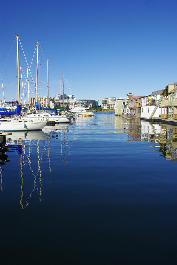 Victoria B.c. Photograph - At Fishermans Wharf by Marilyn Wilson