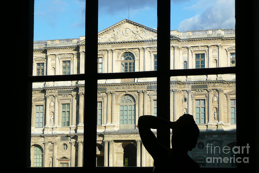 Museum Photograph - At The Louvre by Bob and Nancy Kendrick