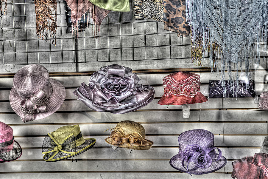 Milliners Photograph - At The Milliners by William Fields