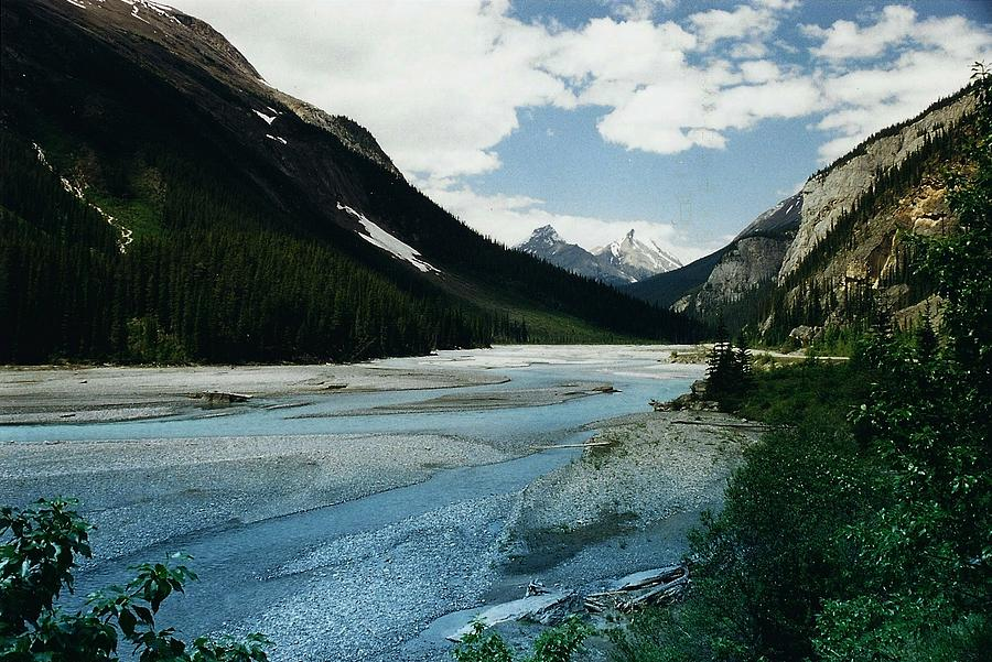 Scenery Photograph - Athabasca River by Shirley Sirois