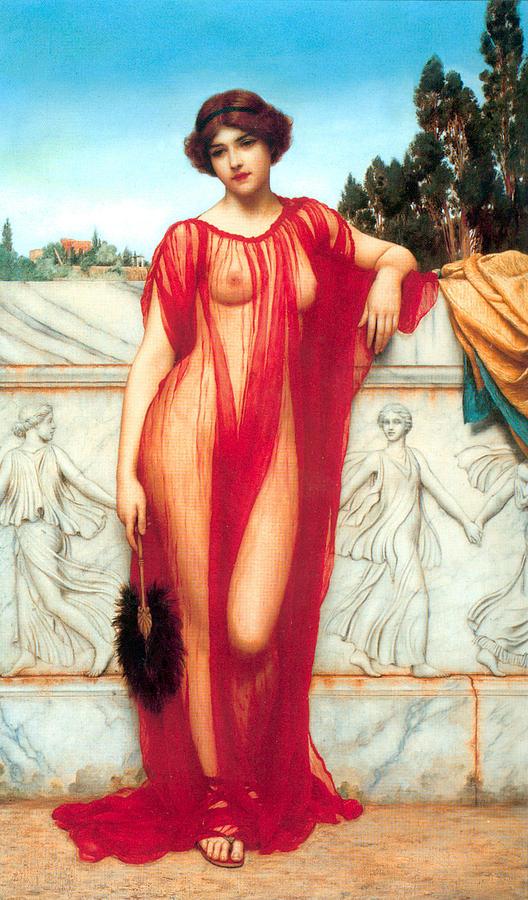 Nude Painting - Athenais by Sumit Mehndiratta