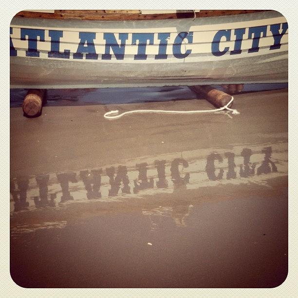 Beach Photograph - Atlantic City NJ by Tina Marie