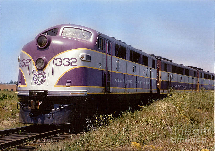 Atlantic Coast Line F2 Aba Photograph By John Black