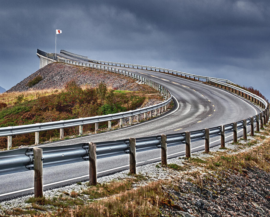 Landscape Photograph - Atlantic Road by A A