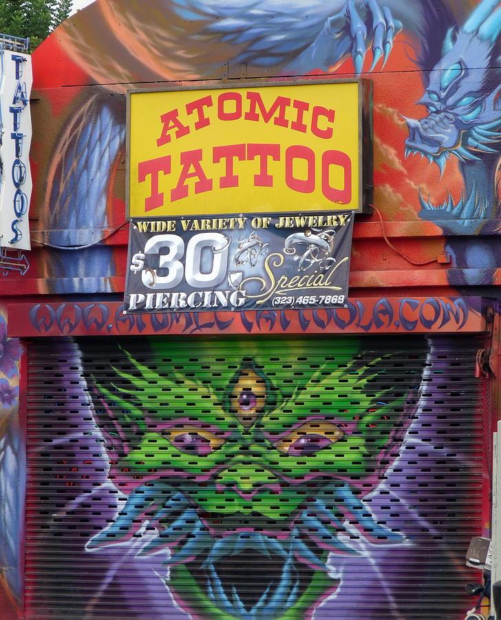 Atomic Tattoo Photograph By Jeff Lowe