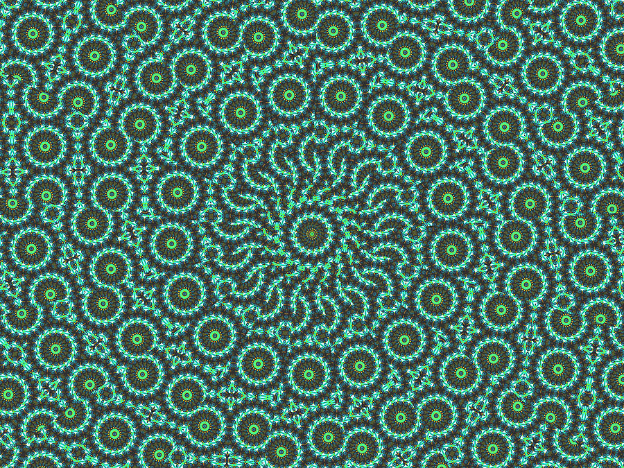 Atoms Messing Around Digital Art by Baato