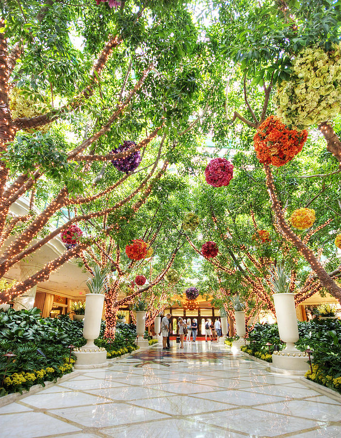 Atrium Photograph - Atrium At The Wynn 2 by Jessica Velasco