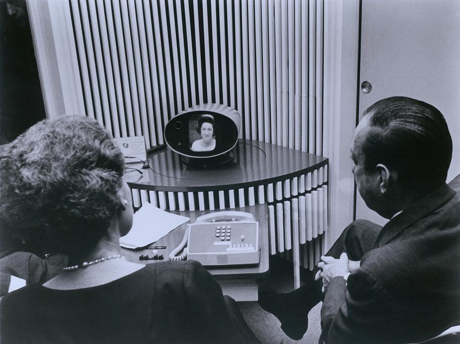 History Photograph - Att Inauguration Of The Picture Phone by Everett