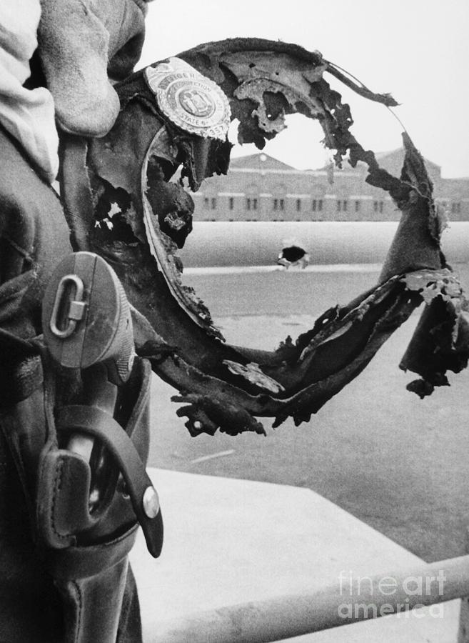 1971 Photograph - Attica Prison Riot, 1971 by Granger