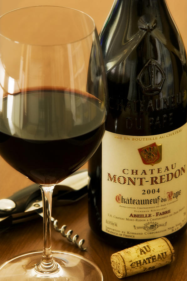 Wine Glass Photograph - Au Chateau by John Galbo