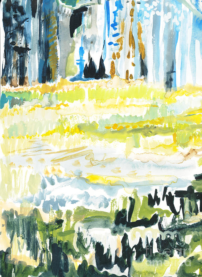 Forest Painting - Audobon II by Vannucci Fine Art