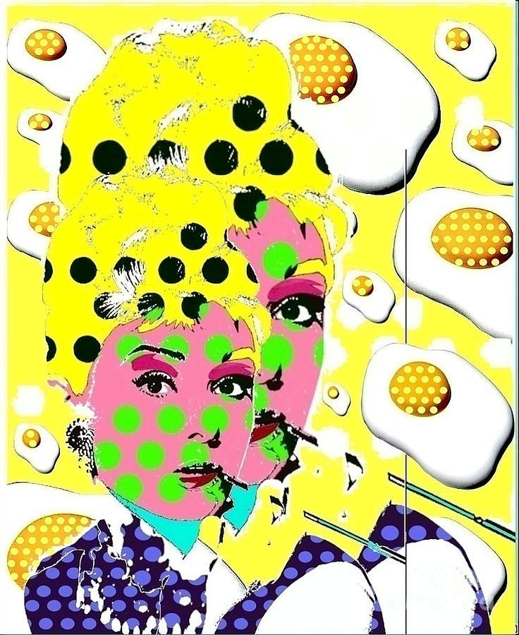 Audrey Hepburn Digital Art - Audrey by Ricky Sencion