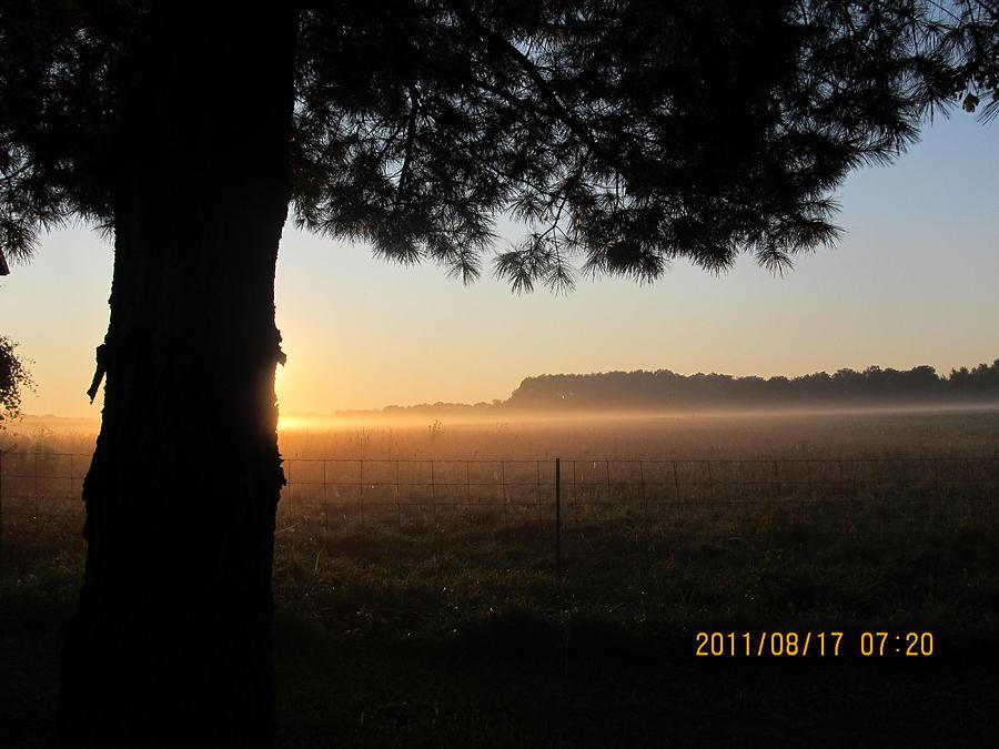 Sunrise Photograph - August 12 Sunrise by Tina M Wenger