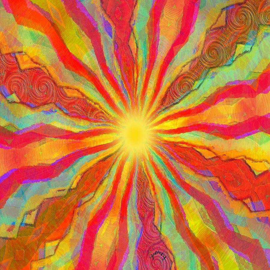 August sun painting by paintings by gretzky for The art of painting