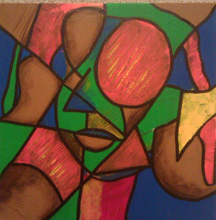Abstract Painting - Aura by Ari Meier