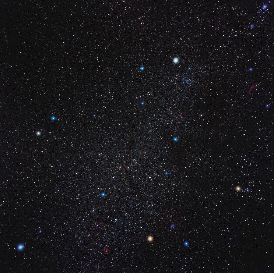 Auriga Photograph - Auriga Constellation by Eckhard Slawik