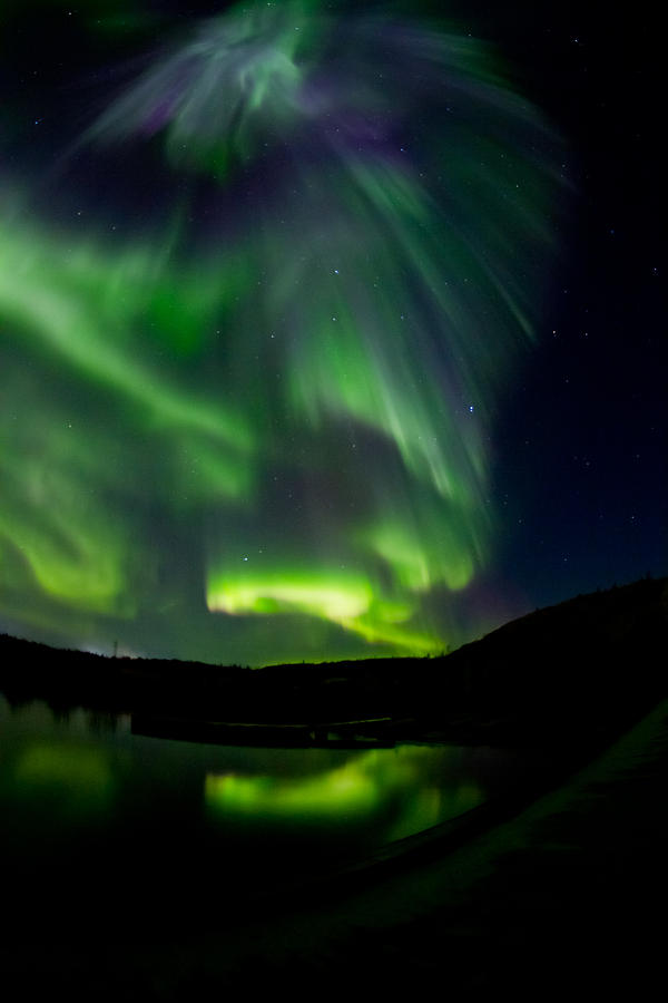 Aurora Borealis Photograph - Aurora 2 by Maik Tondeur