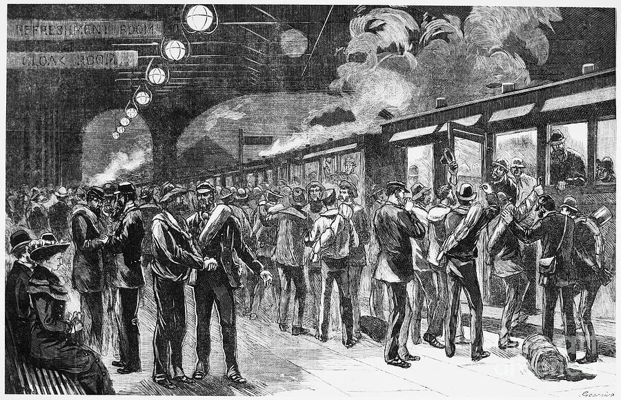 Australia Gold Rush 1880 Photograph By Granger