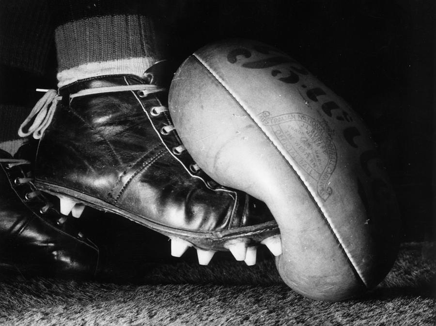 Horizontal Photograph - Australian Rules by Central Press
