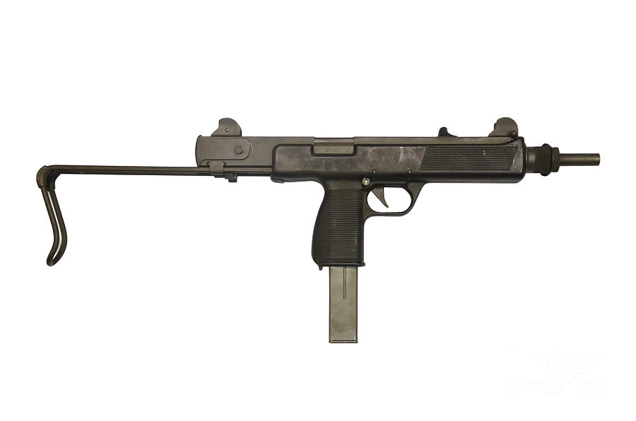 Single Object Photograph - Austrian 9mm Steyr Mpi 81 Submachine by Andrew Chittock