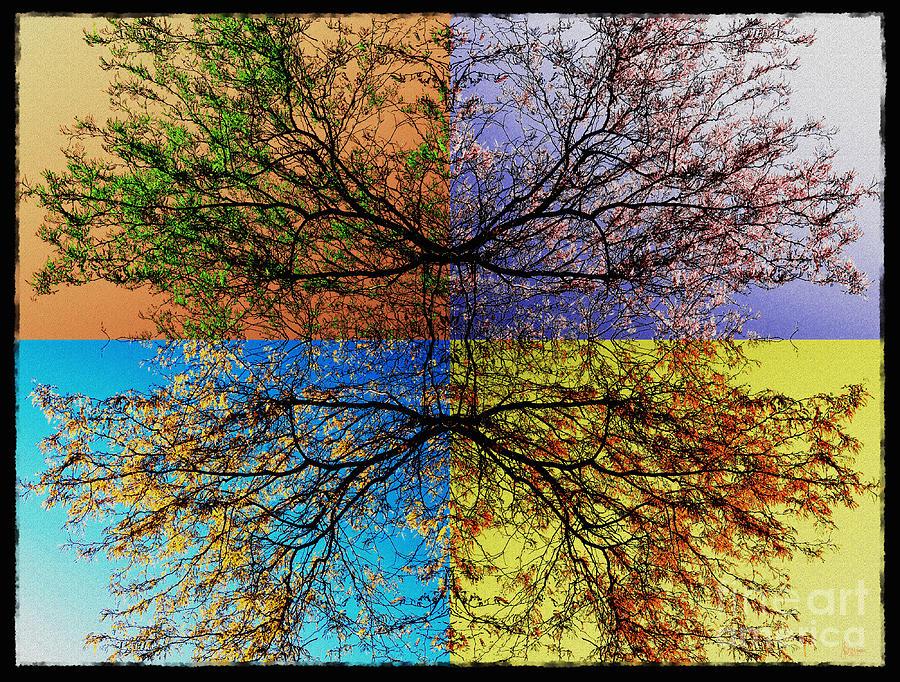 Autumn Photograph - Autumn Abstract by Jeff Breiman