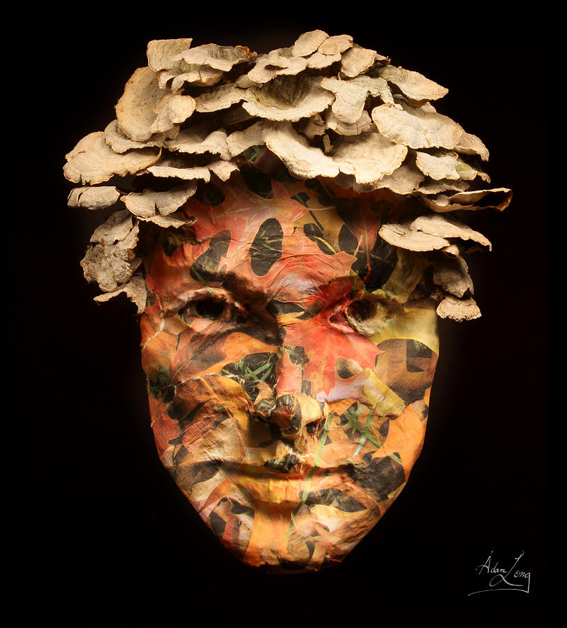 Face Relief - Autumn by Adam Long