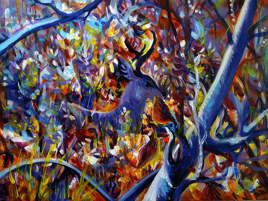 Impressionism Painting - Autumn Fairy Tale by Anna  Duyunova