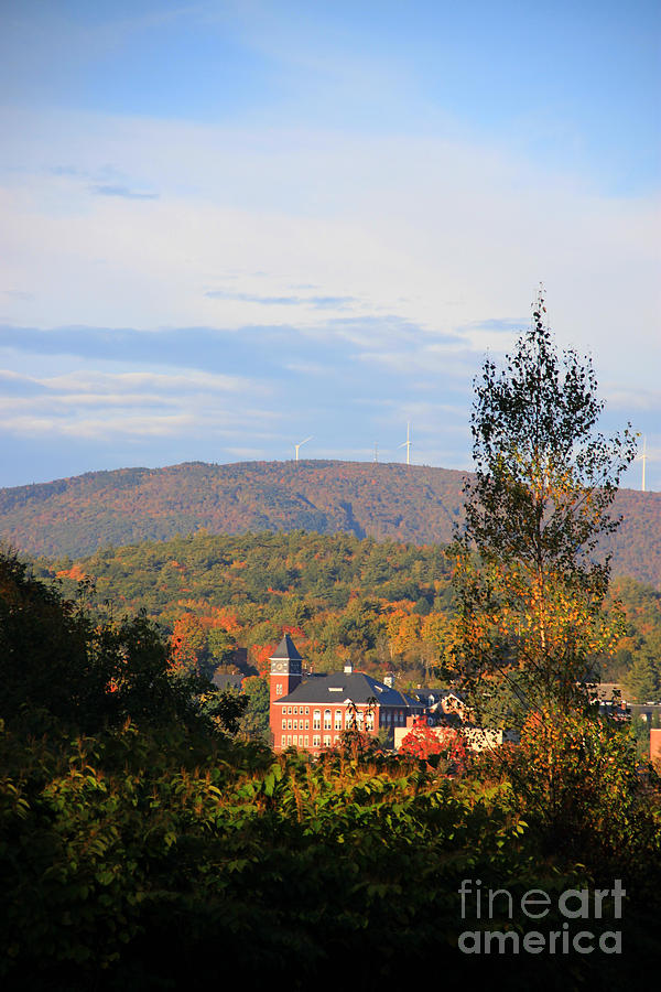 Plymouth New Hampshire Photograph - Autumn In Plymouth by Michael Mooney