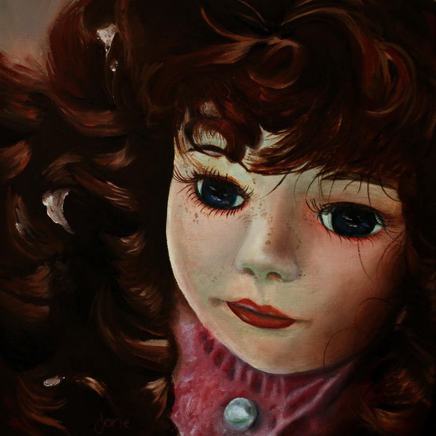 Doll Painting Painting - Autumn by Jane Autry
