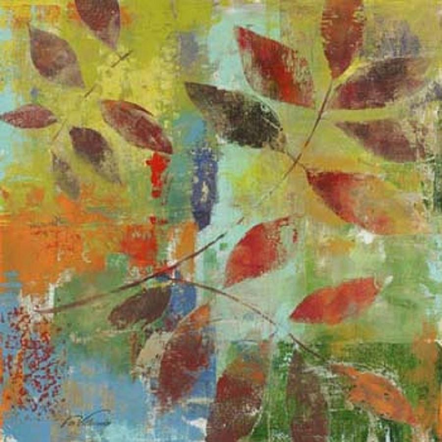 Autumn Leaves Painting by Fabrice de Villeneuve