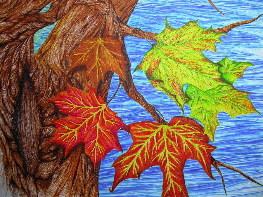 Как рисовать картинка про осень