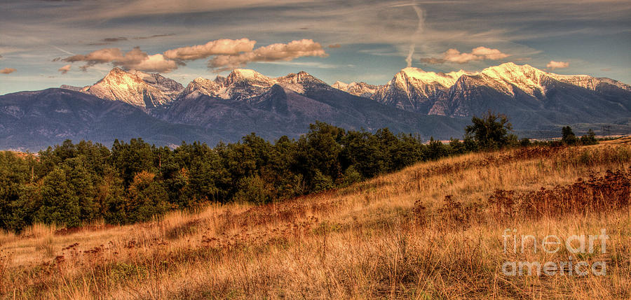 Mission Mountains Photograph - Autumn Mission by Katie LaSalle-Lowery