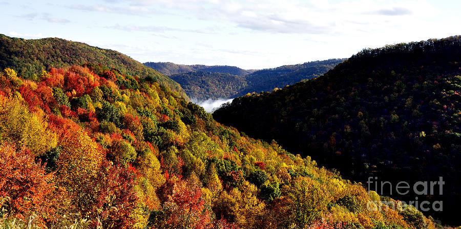 Autumn Panoramic Photograph